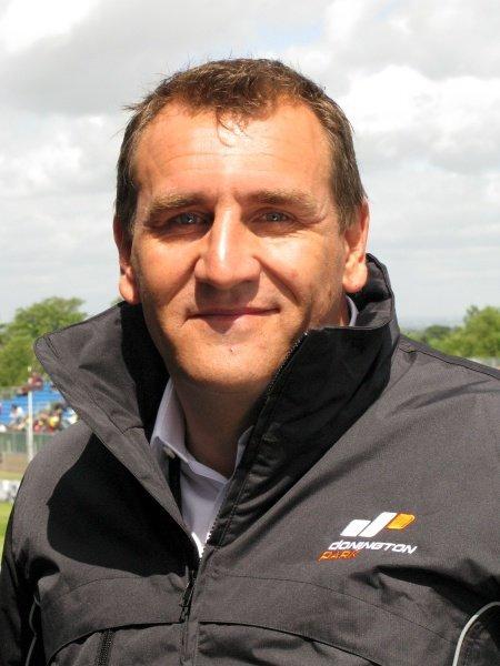 L-R: Simon Gillett (GBR) Chief Executive of Donington Park. MotoGP, Rd8, Nickel & Dime British Grand Prix, Donington Park, England, 20-22 June 2008.