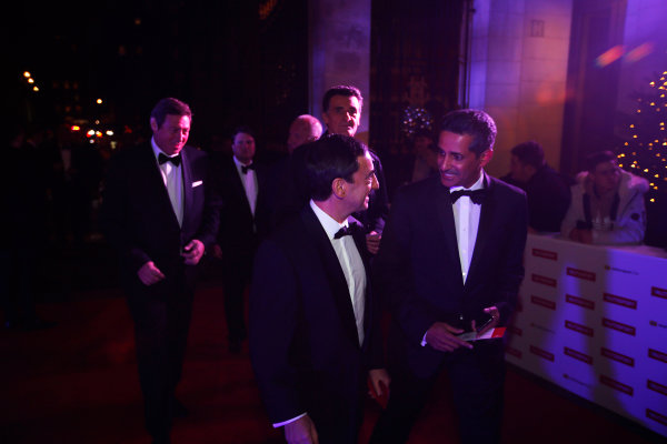 2017 Autosport Awards Grosvenor House Hotel, Park Lane, London. Sunday 3 December 2017. Representatives from the WEC and Le Mans, including Gerard Neveu and Pierre Fillon, arrive. World Copyright: Joe Portlock/LAT Images Ref: Digital Image _L5R7670