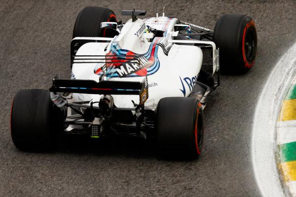 Interlagos, Sao Paulo, Brazil. Friday 10 November 2017. Felipe Massa, Williams FW40 Mercedes. World Copyright: Glenn Dunbar/LAT Images  ref: Digital Image _31I9946