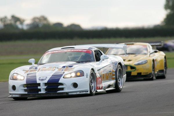 2007 British GT Championship.Croft, England. 8th and 9th September 2007.Neil Cunningham/Richard Hay Team Trimite Brookspeed Dodge Viper CoupeWorld Copyright: Ebrey/LAT Photographic