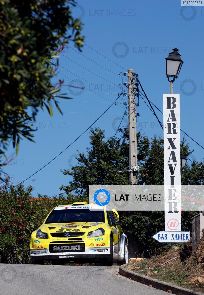 Round 12, Rally of France, Tour de Corse7th - 10th October 2008Toni Gardemeister, Suzuki, actionWorldwide Copyright: McKlein/LAT