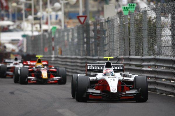 2008 GP2 Series. Round 3. Saturday Race. Monte-Carlo, Monaco. 24th May 2008.Romain Grosjean (FRA, ART Grand Prix). Action. World Copyright: Charles Coates/GP2 Series Media Service.ref:__26Y9633 jpg