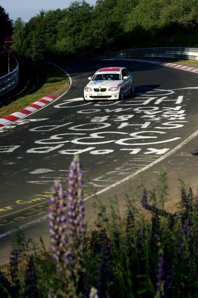 Michael Bonk (GER) / Peter Bonk (GER) / Urs Schild (SUI) / Stefan Aust (GER) BMW 130i. Nurburgring 24 Hour Race, Nurburgring, Germany 17-18 June 2006. DIGITAL IMAGE