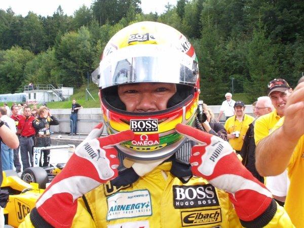 2006 Recaro Formula 3 Cup champion Ho-Pin Tung (CHN) JB Motorsport.Recaro Formel 3 Cup, Rd9, Salzburgring, Austria, 16-17 September 2006.DIGITAL IMAGE