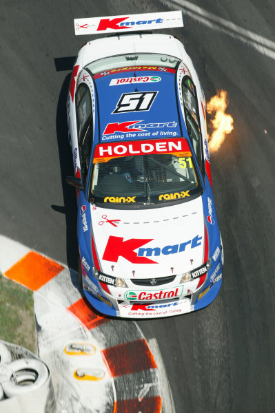 2003 Australian V8 SupercarsSurfers Paradise, Australia. October 25th 2003. Greg Murphy attacks the chicane during the Gillette V8 Supercar event at the Lexmark Indy 300 at the Sufer's Paradise street circuit.World Copyright: Mark Horsburgh/LAT Photographicref: Digital Image Only