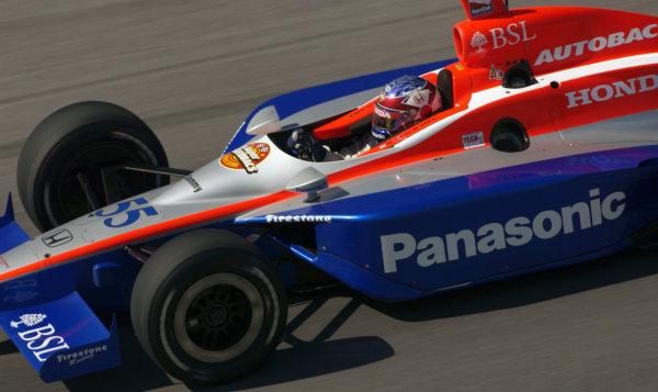 2003 IRL IndyCar Chicagoland Speedway, Chicago, Illinois 8/5-8/7/03 USARoger YasukawaWorld Copyright-Walt Kuhn 2003 LAT Photographicref: Digital Image Only