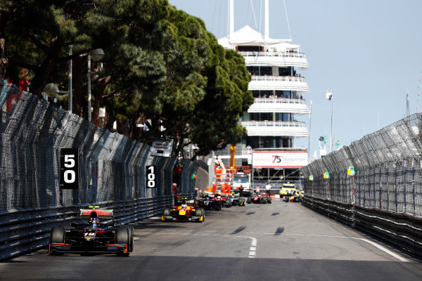 2017 FIA Formula 2 Round 3. Monte Carlo, Monaco. Saturday 27 May 2017. Johnny Cecotto Jr. (VEN, Rapax)  Photo: Zak Mauger/FIA Formula 2. ref: Digital Image _X4I9456