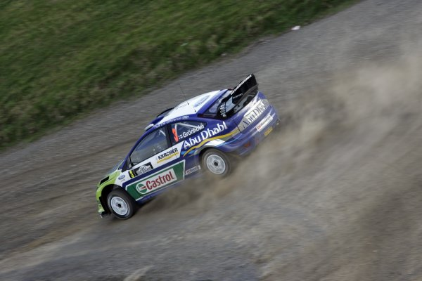 2007 FIA World Rally Champs. Round 11Rally New Zeland, 31st  August - 2nd  September 2007Marcus Gronholm, Ford, actionWorld Copyright: McKlein/LAT