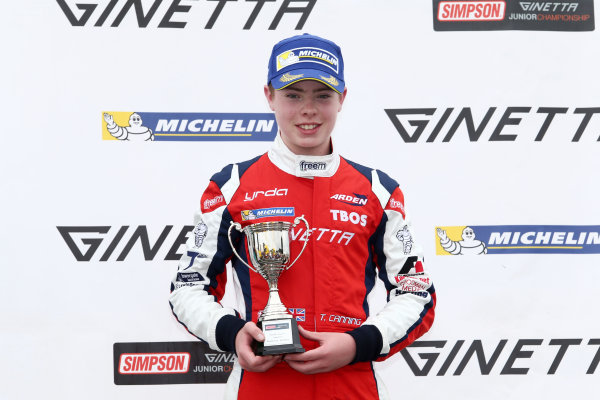 2017 Ginetta Junior Championship,  Knockhill, 12th-13th August 2017, Tom Canning Douglas Motorsport Ginetta Junior  World copyright. JEP/LAT Images