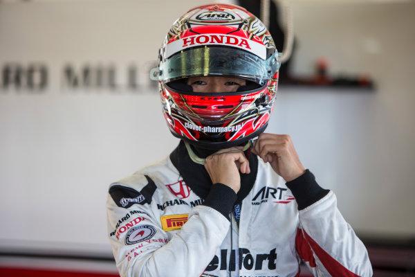 2017 FIA Formula 2 Round 10. Circuito de Jerez, Jerez, Spain. Friday 6 October 2017. Nobuharu Matsushita (JPN, ART Grand Prix).  Photo: Andrew Ferraro/FIA Formula 2. ref: Digital Image _FER0456