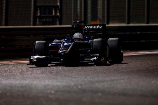 2016 GP2 Series Test 3 Yas Marina Circuit, Abu Dhabi, United Arab Emirates. Friday 2 December 2016. Chris Hoher (AUT, RUSSIAN TIME)  Photo: Zak Mauger/GP2 Series Media Service. ref: Digital Image _L0U4826