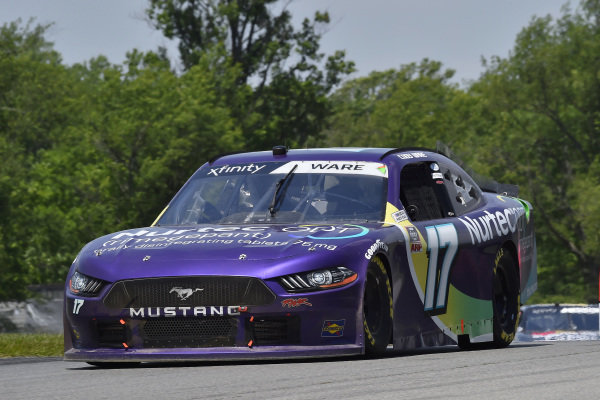 #17: Cody Ware, SS Green Light Racing, Ford Mustang Nurtec ODT