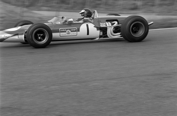 Jim Clark, Lotus 48 Cosworth.