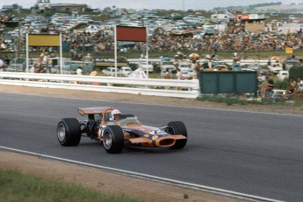 Kyalami, South Africa.5-7 March 1970.John Love (Team Gunston/Lotus 49 Ford).Ref-70 SA 17.World Copyright - LAT Photographic