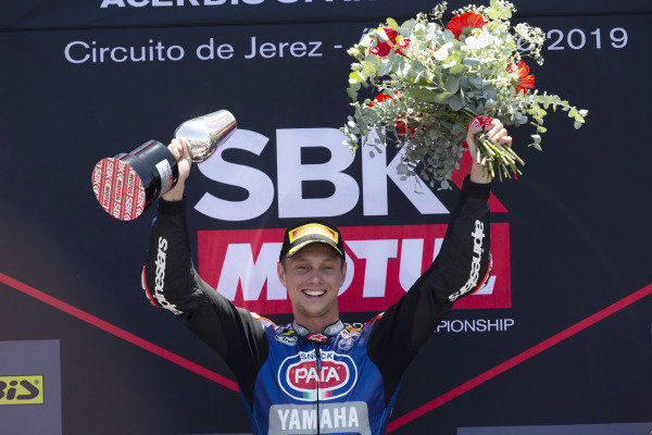Winner Michael van der Mark, Pata Yamaha
