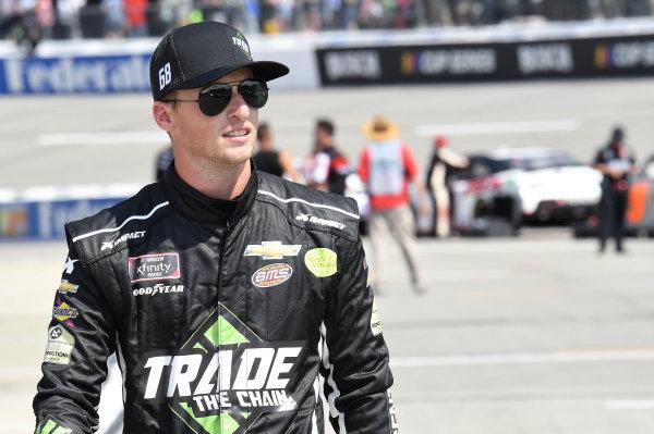 #68: Brandon Brown, Brandonbilt Motorsports, Chevrolet Camaro TradeTheChain.com