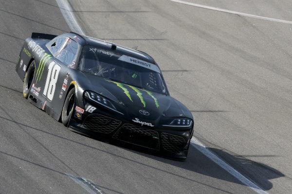 #18: Riley Herbst, Joe Gibbs Racing, Monster Energy Toyota Supra