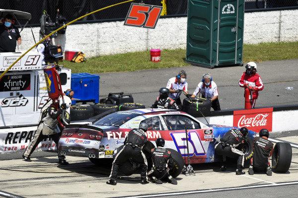 #51: Jeremy Clements, Jeremy Clements Racing, Chevrolet Camaro Repairables.com
