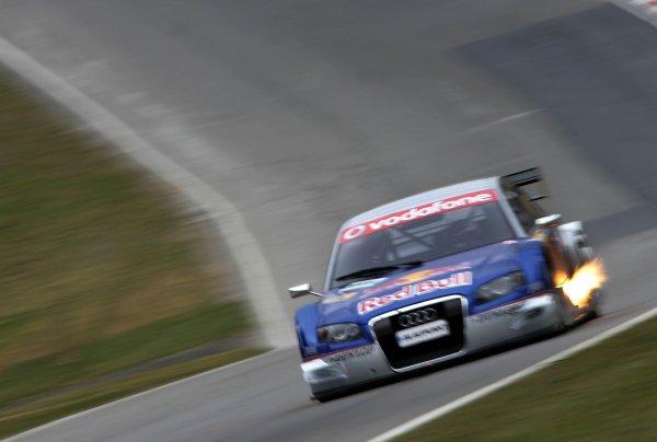 2006 DTM Testing Brands Hatch, England. 20th March 2006. Mattias Ekstrom, Audi Sport Team Abt Sportsline, Audi A4 DTM. Action. World Copyright: Gary Hawkins/LAT Photographic ref: Digital Image Only.