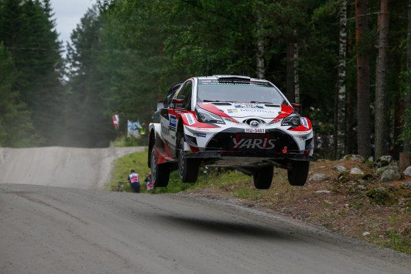 2017 FIA World Rally Championship, Round 09, Rally Finland / July 27 - 30, 2017, Jari-Matti Latvala, Toyota WRC, Action  Worldwide Copyright: McKlein/LAT