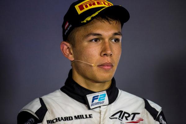 2017 FIA Formula 2 Round 5. Red Bull Ring, Spielberg, Austria. Sunday 9 July 2017. Alexander Albon (THA, ART Grand Prix).  Photo: Zak Mauger/FIA Formula 2. ref: Digital Image _56I4519