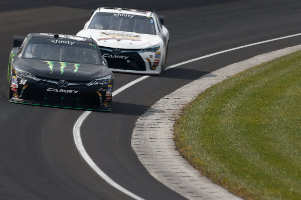 24-25 July, 2015, Indianapolis, Indiana USA Kyle Busch, Monster Energy Toyota Camry ?2015, Brett Moist LAT Photo USA