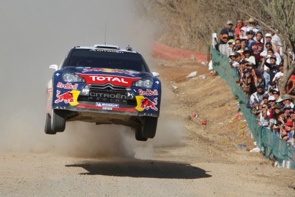 Round 2, Rally of Mexico, 3rd-6th March 2011Sebsatien Ogier, Julien Ingrassia, Citroen DS3 WRC, Action, Worldwide Copyright: McKlein/LAT