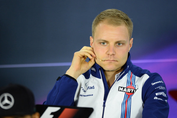 Valtteri Bottas (FIN) Williams during the press conference at Formula One World Championship, Rd1, Australian Grand Prix, Preparations, Albert Park, Melbourne, Australia, Thursday 12 March 2015.