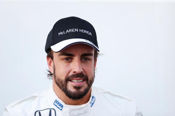 Sepang International Circuit, Sepang, Kuala Lumpur, Malaysia. Thursday 26 March 2015. Fernando Alonso, McLaren. World Copyright: Charles Coates/LAT Photographic. ref: Digital Image _N7T2288
