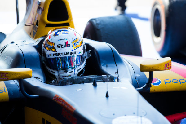 2016 GP2 Series Round 8 Spa-Fracorchamps, Spa, Belgium. Sunday 28 August 2016. Antonio Giovinazzi (ITA, PREMA Racing)  Photo: Sam Bloxham/GP2 Series Media Service. ref: Digital Image _SBB6148