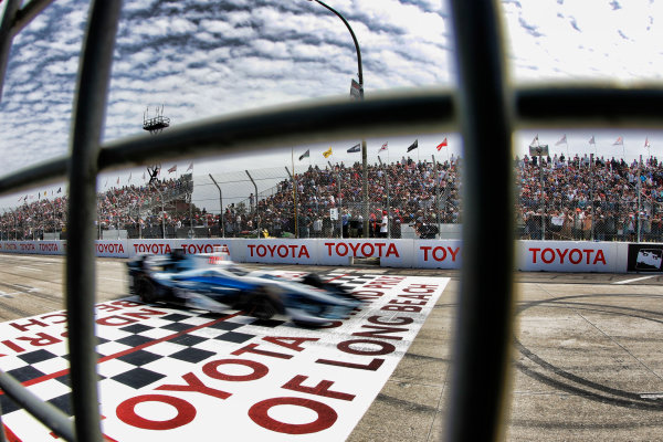 2017 Verizon IndyCar Series Toyota Grand Prix of Long Beach Streets of Long Beach, CA USA Sunday 9 April 2017 Max Chilton World Copyright: Michael L. Levitt LAT Images