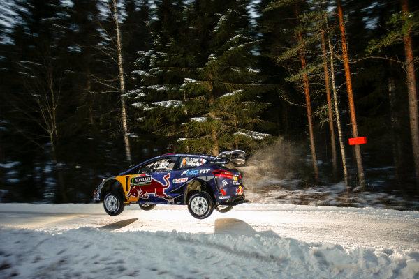 2017 FIA World Rally Championship, Round 02, Rally Sweden, February 09-12, 2017, Sebastien Ogier, Ford, Action Worldwide Copyright: McKlein/LAT