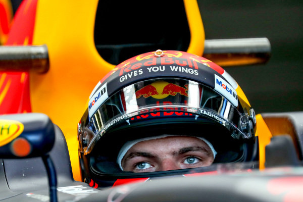 Max Verstappen (NED) Red Bull Racing at Formula One World Championship, Rd9, Austrian Grand Prix, Practice, Spielberg, Austria, Friday 7 July 2017.