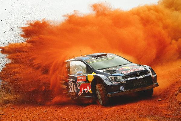Sebastien Ogier (FRA) / Julien Ingrassia (FRA), Volkswagen Polo R WRC at FIA World Rally Championship, R10, Coates Hire Rally Australia, Preparations & Shakedown, Coffs Harbour, New South Wales, Australia, 10 September 2015.