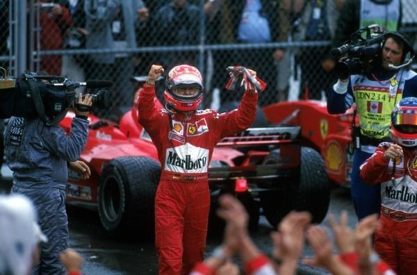 Michael Schumacher(GER) Ferrari F1 2000, 1st place Canadian GP, Montreal, 18 June 2000