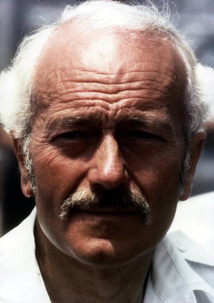 1982 Formula 1 World Championship. Colin Chapman (Lotus). World - LAT Photographic