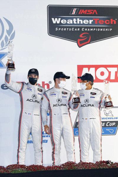 #6 Acura Team Penske Acura DPi, DPi: Juan Pablo Montoya, Dane Cameron, Simon Pagenaud, podium