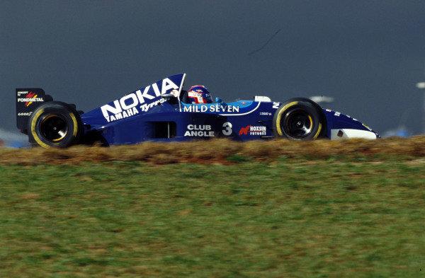 Ukyo Katayama, Tyrrell 023 Yamaha.