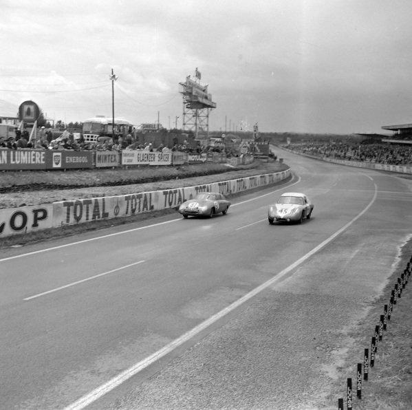 Jacques Poch / Guy Dunand-Saultier, Equipe Monopole Course, Monopole X86 - Panhard, battles with Robert Mougin / Jean Lucienbonnet, Automobiles Deutsch et Bonnet, D.B. HBR4 - Panhard.