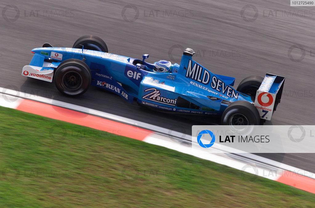 2001 Malaysian Grand Prix