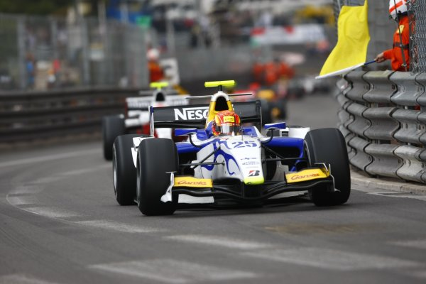 2008 GP2 Series. Round 3. Saturday Race. Monte-Carlo, Monaco. 24th May 2008.Diego Nunes (BRA, David Price Racing). Action. World Copyright: Charles Coates/GP2 Series Media Service.ref:__26Y9423 jpg