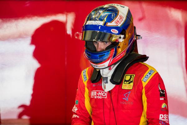 2017 FIA Formula 2 Round 10. Circuito de Jerez, Jerez, Spain. Saturday 7 October 2017. Gustav Malja (SWE, Racing Engineering).  Photo: Zak Mauger/FIA Formula 2. ref: Digital Image _56I6062