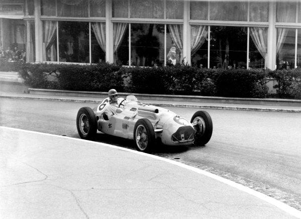 1950 Monaco Grand Prix.Monaco, Monte Carlo. 21st May 1950.Johnny Claes (Lago-Talbot T26C). Ref-C26709.World Copyright: LAT Photographic