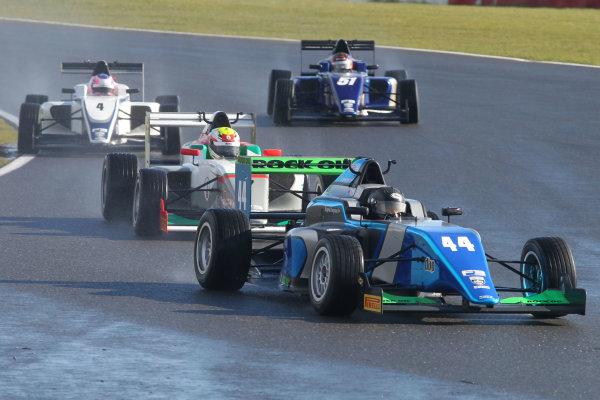 2016 BRDC British Formula 3 Championship, Snetterton, Norfolk. 27th - 28th March 2016. Eugene Denyssen (RSA) Sean Walkinshaw Racing BRDC F3. World Copyright: Ebrey / LAT Photographic.