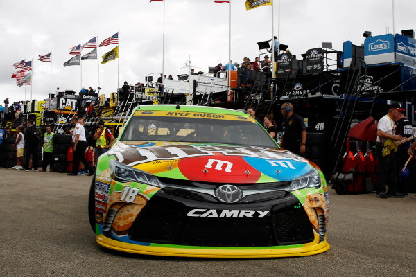 20-22 November, 2015, Homestead, Florida USA Kyle Busch, M&M's Crispy Toyota Camry ?2015, Russell LaBounty LAT Photo USA