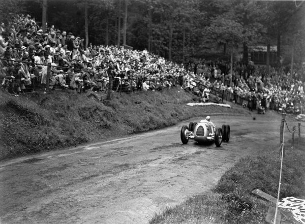 Shelsey Walsh, England. 6th June 1936