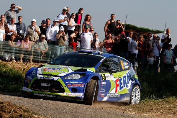 Round 11-Rallye de France. Dennis Kuipers, Ford WRC, Action.Worldwide Copyright: McKlein/LAT