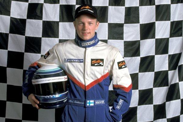 Kimi Raikkonen (FIN) Haywood Racing. Formula Renault Sport Championship, Silverstone, England, 16 April 1999.