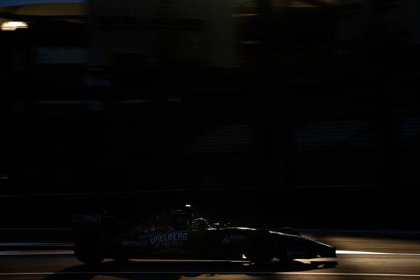Yas Marina Circuit, Abu Dhabi, United Arab Emirates. Tuesday 25 November 2014. Max Verstappen, Toro Rosso STR9 Renault.  World Copyright: Glenn Dunbar/LAT Photographic. ref: Digital Image _89P9538