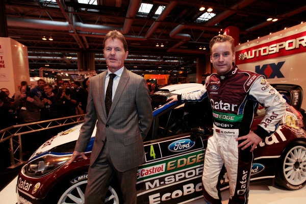 Autosport International Show NEC, Birmingham.  Thursday 10th January 2013. The new Ford Fiesta Rally Car is unveiled. World Copyright:Alastair Staley/LAT Photographic ref: Digital Image _MG_0719